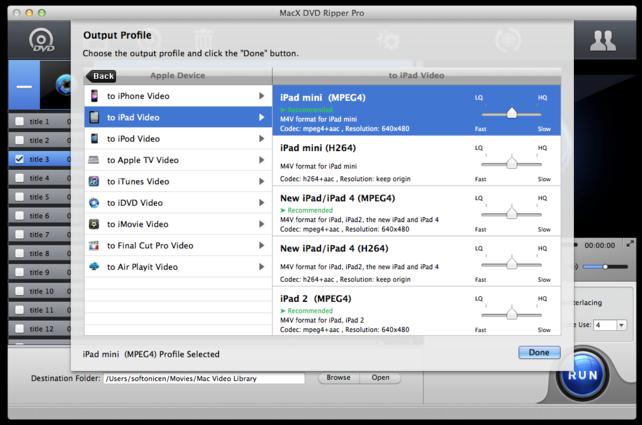 MacX DVD Ripper Pro mac