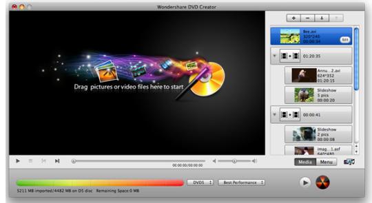 Wondershare DVD Creator mac 2017