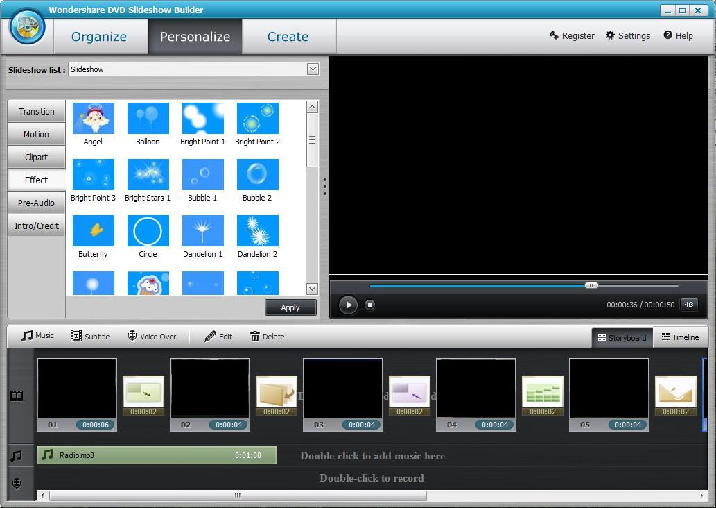 Wondershare DVD Slideshow Builder Deluxe 2017