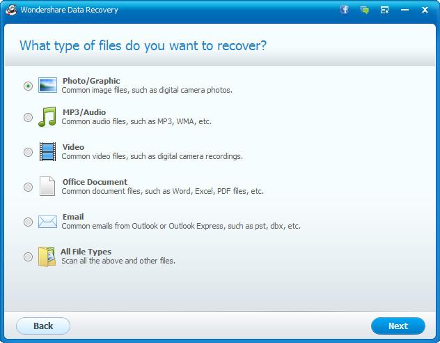 Wondershare Data Recovery MacOSX