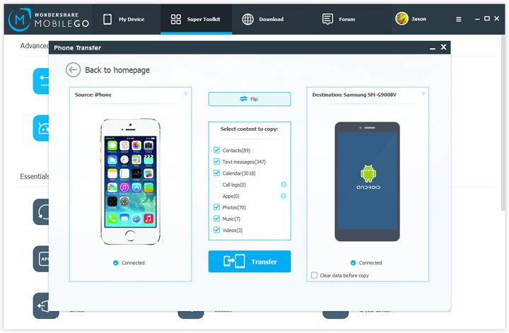 Wondershare MobileGo 2017