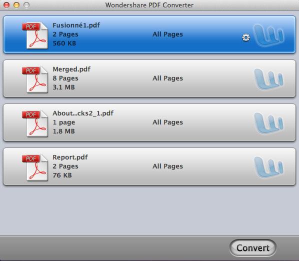 Wondershare PDF Converter Pro mac 2017
