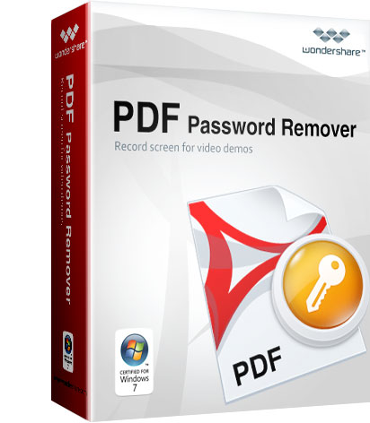 Wondershare PDF Password Remover 2017