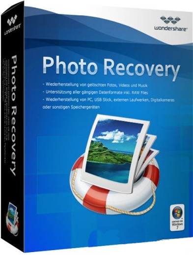 Wondershare Photo Recovery 2017