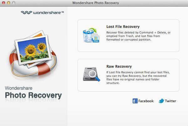 Wondershare Photo Recovery mac