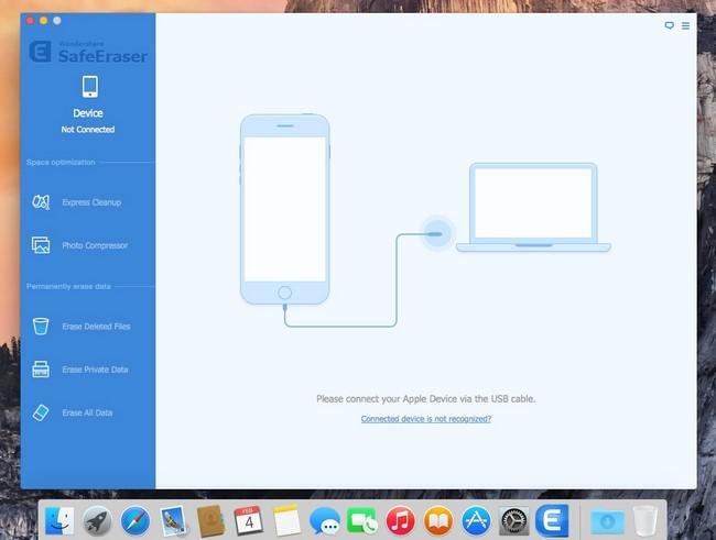 Wondershare SafeEraser mac