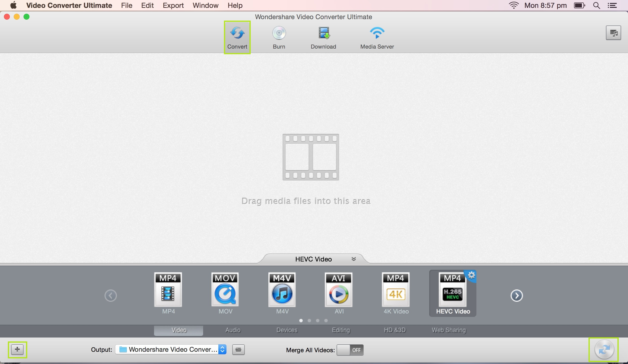 Wondershare Video Converter Ultimate mac 2017