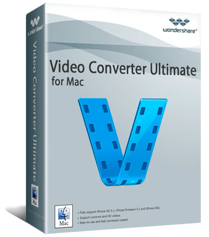 Wondershare Video Converter Ultimate mac