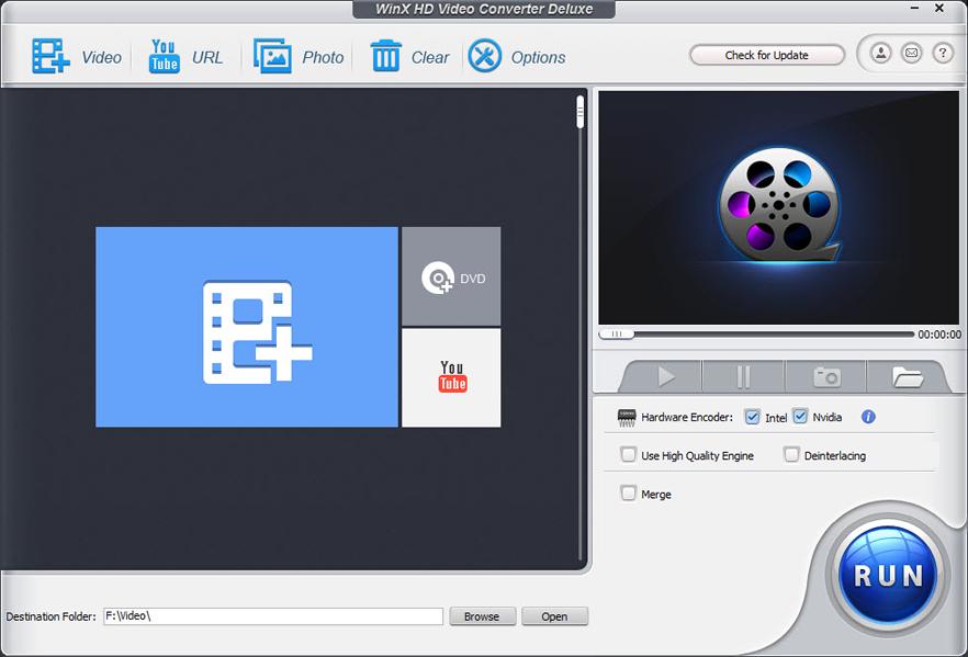 WinX HD Video Converter Deluxe latest