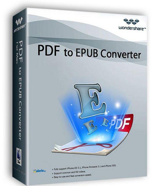 Wondershare PDF to EPUB Converter latest