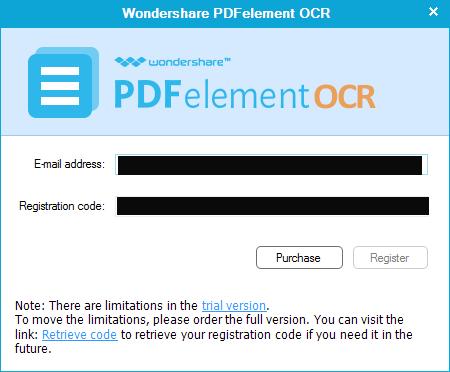 Wondershare PDFelement OCR