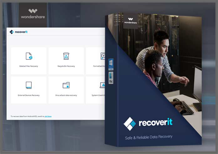 Wondershare Recoverit windows