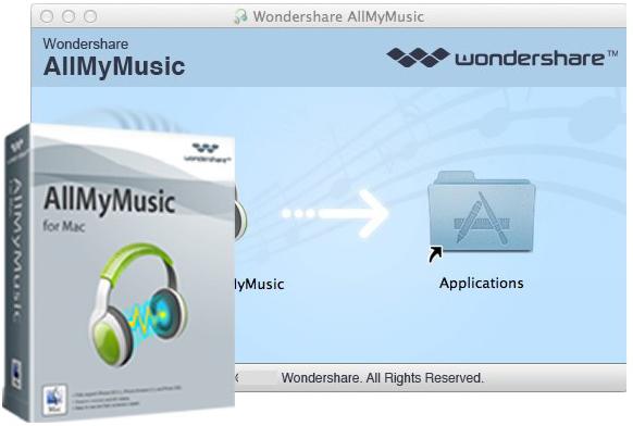 Wondershare AllMyMusic mac