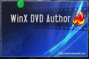 WinX DVD Author windows