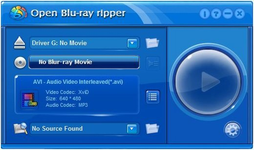 Open Blu-ray Ripper